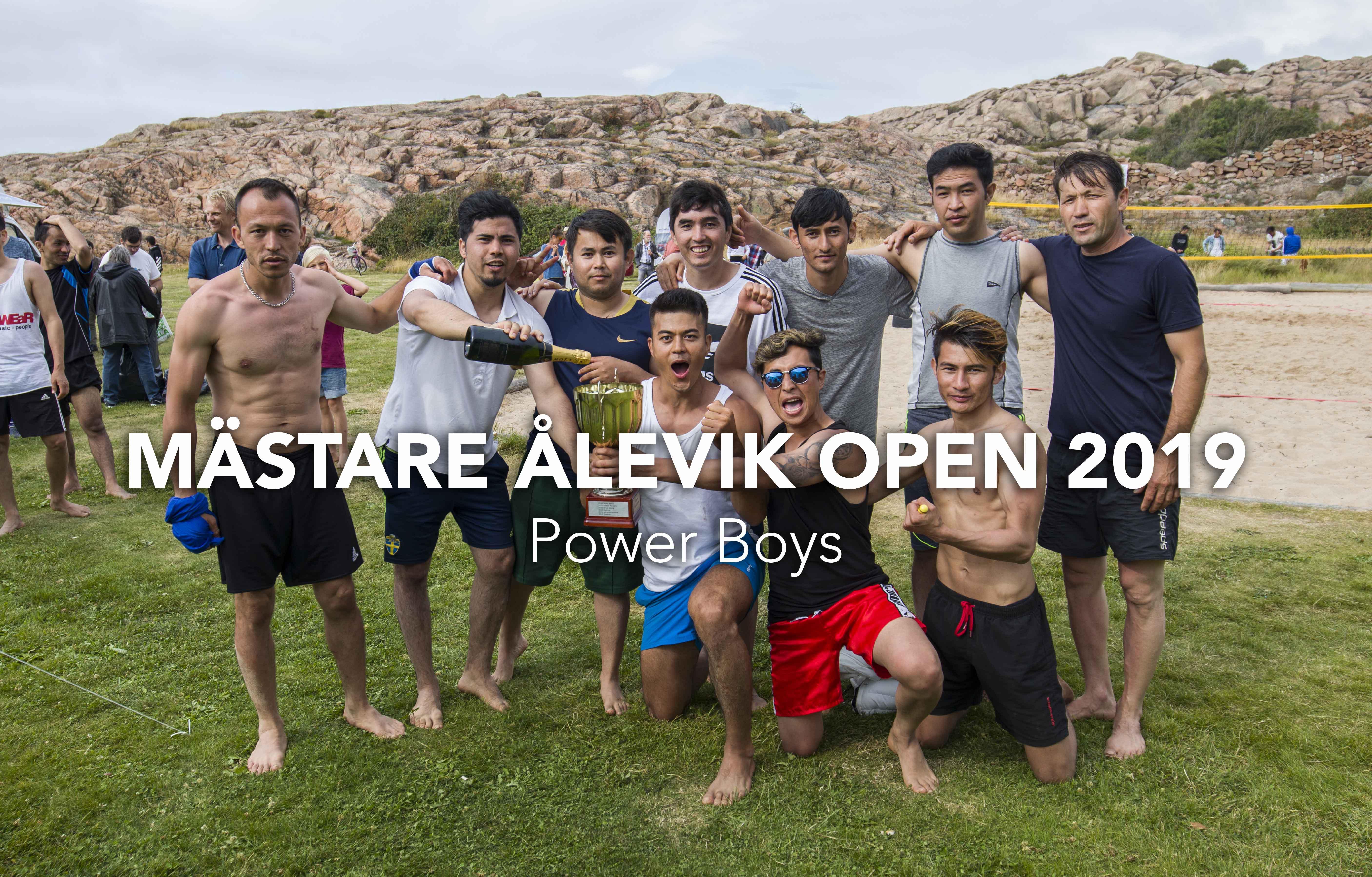 Mästare Ålevik Open 2019